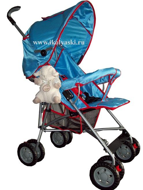 Практичная и удобная коляска-трость для вашего малыша.  У коляски...